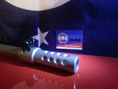 Custom Stainless Steel Ruger Mini 14/30 580 Series Muzzle Brake